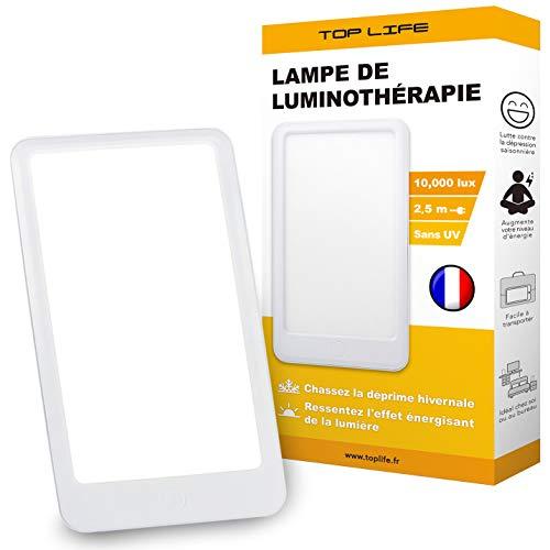 Tageslichtlampe 10000 Lux – Lichttherapie Lampe zur ausgleich von Lichtmangel - Lichtleuchte gegen die saisonal abhängige Depression (SAD)
