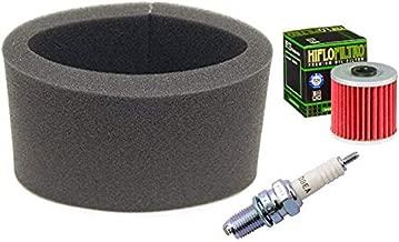Tune Up Kit Air Filter Oil Filter Spark Plug for Kawasaki Bayou KLF 220 300