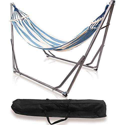 ロベンズナオミ ハンモック 自立式 おりたたみ 室内 スタンドセット 乗り心地良い 持ち運び便利 組み立て簡単 アウトドア キャンプ 家庭用 収納バッグ付き