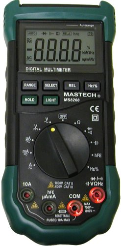 Mastech MS8268 Series Digital Auto/Manual Range Digital Multimeter