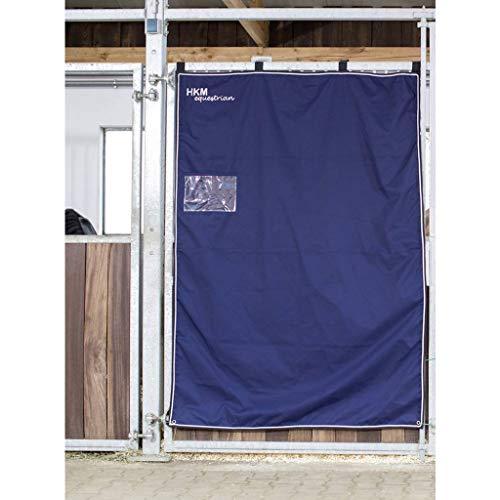 HKM Boxenvorhang, 130 x 200 cm, dunkelblau