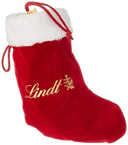 Lindt Santa Socke, Schokoladengeschenk zu Nikolaus und Weihnachten, 250 g