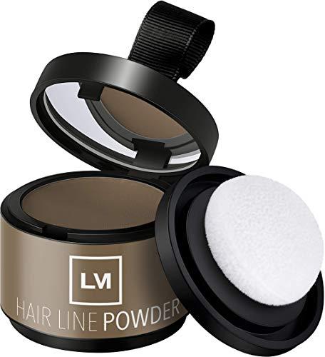 LEON MIGUEL HAIR LINE POWDER - Concealer/Ansatzpuder - 4g | Haarverdichtung und Haarauffüller durch Shadow Make-Up | Wasserfest (Blond)