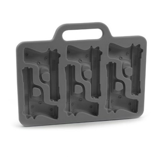 vancgoods Cool Pistola Forma de Cubo de hielo bandeja molde de resina epoxi moldes