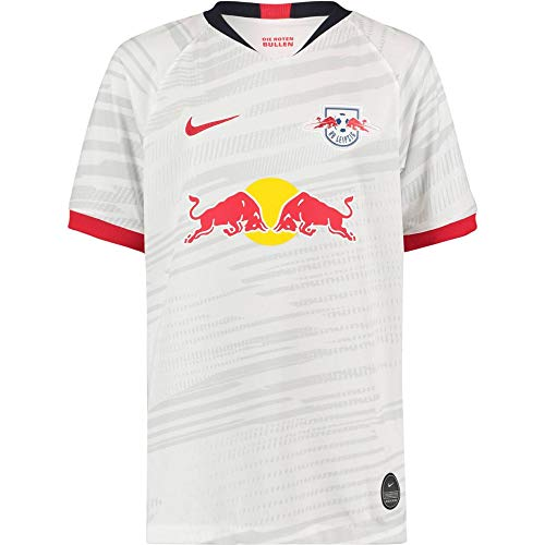 Nike Kinder RBLZ Y NK BRT STAD JSY SS HM Football T-Shirt, White/University red Full Sponsor, S