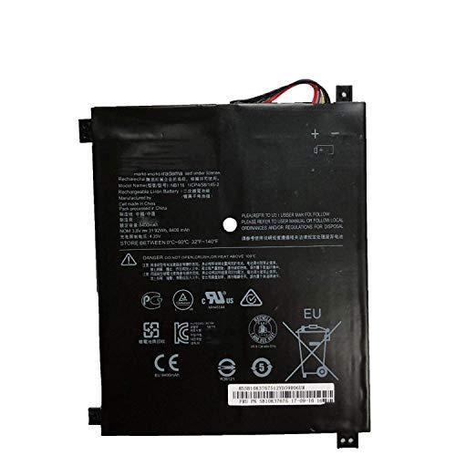 NB116 Batteria del Computer Portatile Laptop per Lenovo IdeaPad 100S 100S-11IBY 80R2 100S-80 R2 80R2002HGE 80R2002JGE 80R2002KGE 80R2002LGE 80R200DHGE (3.8v 31.92wh 8400mah)