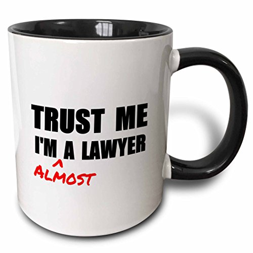 Gift ideas for a law student for when they need some humor.