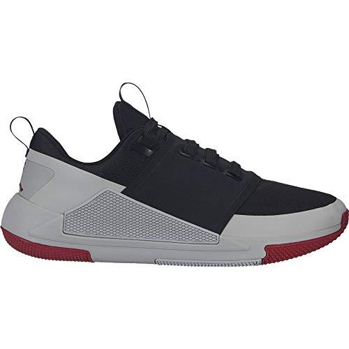 Nike Mod Tempo Embross - Pantalón corto para mujer, Hombre, color Negro (Black/Gym Red/Light Smoke Grey), tamaño 40.5 EU