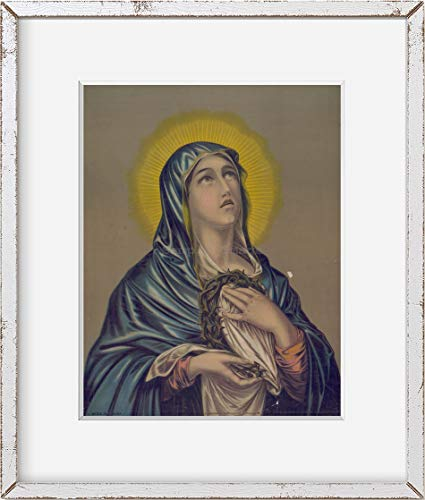 INFINITE PHOTOGRAPHS Photo: Mater dolorosa,Blessed Virgin Mary,Our Lady of Sorrow,February 6,c1882