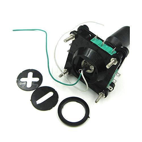 0.866in SCV4-YQ-05R2G Interruptor de palanca de mando Interruptor cruzado 4 Dirección Interruptor principal Botón Botón Botón 360 grados Momentáneo
