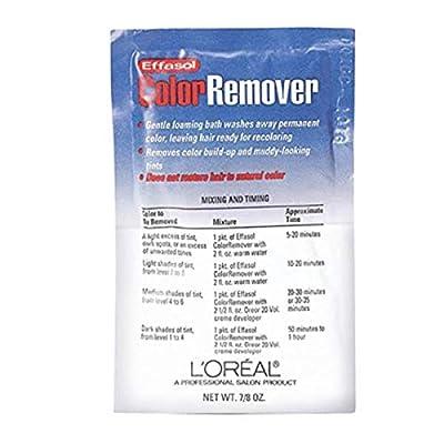 L'OREAL Effasol Color Remover 0.86oz/22.11g (Quantity: 1 Application) by L'Oreal