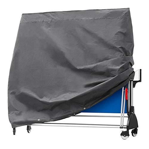 Lopbinte Cubierta de Tenis de Mesa Duradera Pong Tela Protectora Impermeable y Transpirable Oxford Cubierta de JardíN al Aire Libre 165X70X185Cm