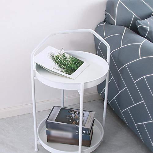 Lynn Bijzettafel, sofa, kleine tafel, salontafel, industriële, tafel, snack, dubbel, decoratie, indoorbed, aan de zijkant