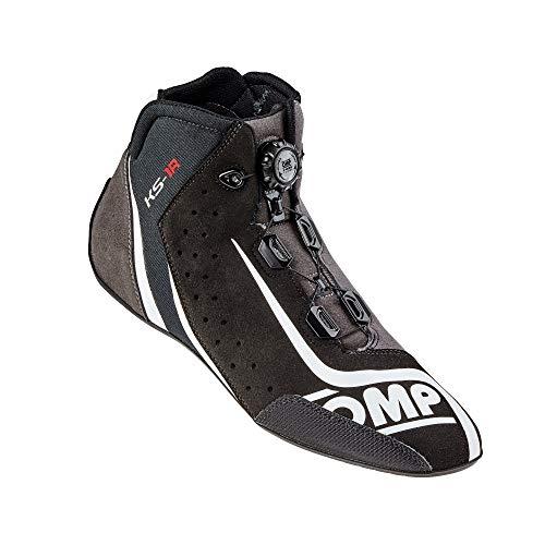 OMP OMPIC/81007142 Zapatillas, Negro/Plata, Talla 42