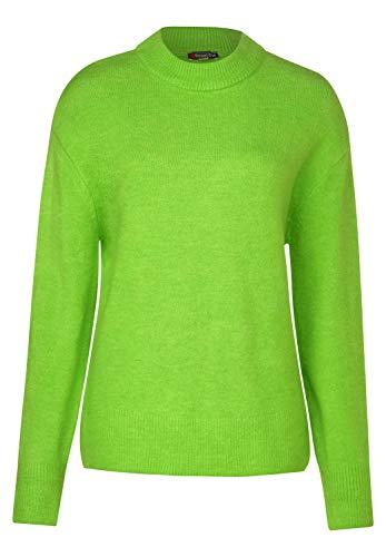 Street One Damen Kuscheliger Pullover Flash Lime 40