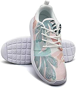 Summer Tropical Palm Trees and Blue Sky Women Canvas Comfortable Sneakers