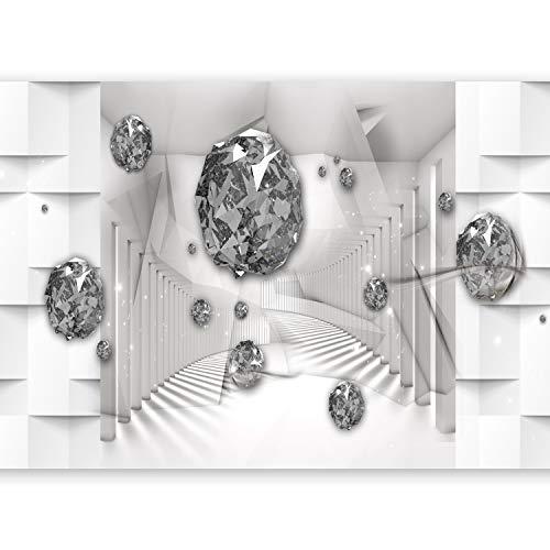 murando - Fotomurali 600x280 cm Novitá 6m Carta da parati sulla fliselina Quadri murali XXL Fotomurale - Astrazione Diamante a-C-0050-x-e