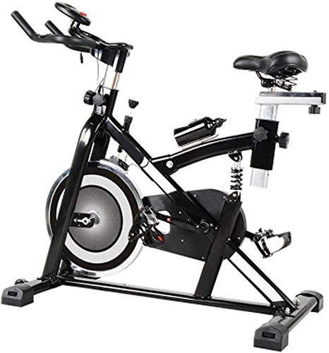 LSYOA Ajustable Bicicleta Estática, Bicicleta Spinning, Indoor ...