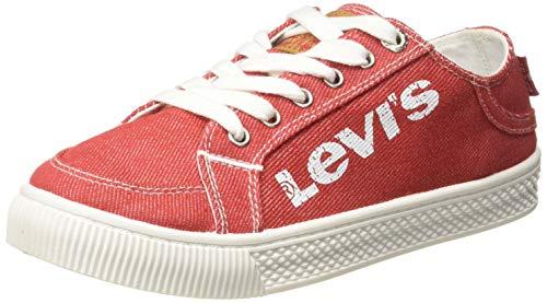 Levi's Women Hansen W. Regular Red Sneakers-4.5 UK (38366-0237)