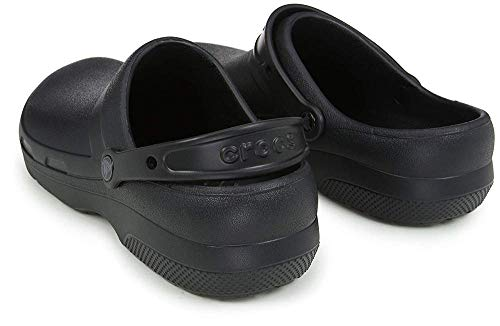 Crocs Specialist II Clog, Black, 8 US Women / 6 US Men
