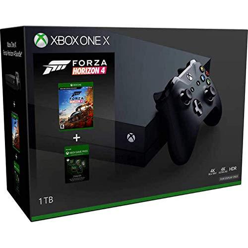Xbox One X 1 To Forza Horizon 4 Bundle avec pass de jeu de 3 mois (rewed)