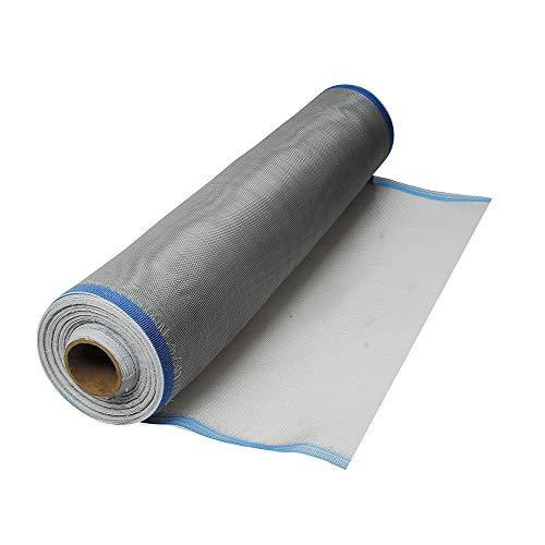 Surtek 138114 Tela para Mosquitero de Plástico, color Gris, 0.75 X 30 m en Bobina