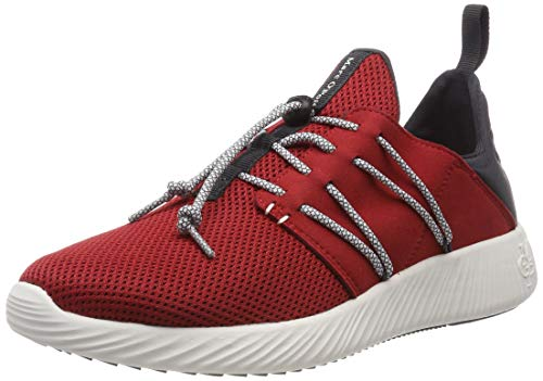 Marc O'Polo Herren Sneaker, Rot (Red 345), 41 EU