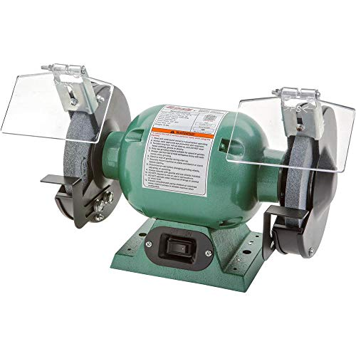 Grizzly Industrial G9717 - 6' Bench Grinder w/ 1/2' Arbor