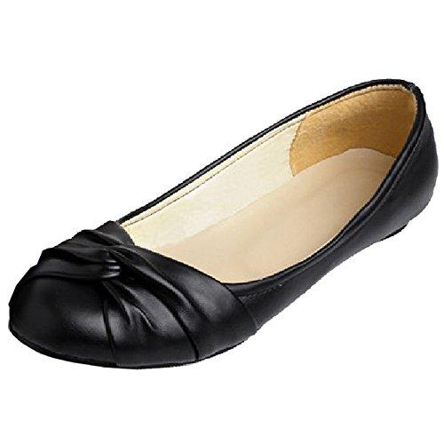 Smilice Damen Fashion Ballerinas Süß Flach Pumps