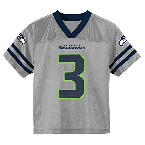 Russell Wilson Seattle Seahawks #3 Youth 8-20 Home Alternate Player Jersey (Russell Wilson Seattle Seahawks Alternate Gray, 14-16)