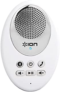 ION Audio Sound Splash | Wireless Water-Resistant Bluetooth Speaker with Built-In Mic & Call Answering