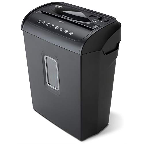 Cheapest Price! Aurora AU608MB High-Security 6-Sheet Micro-Cut Paper Credit Card Shredder with 3.5-G...