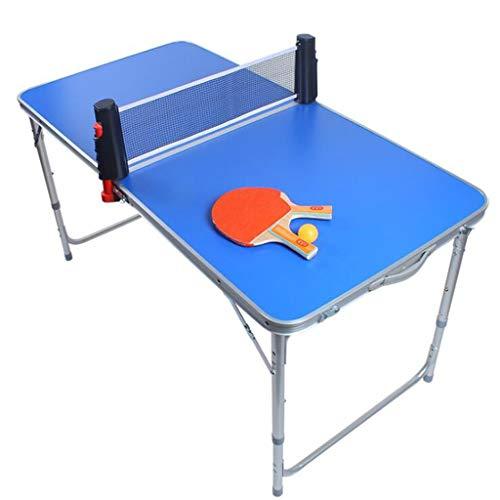Tabla portable Mesa de ping pong, cubierta plegable de ping-pong Mesa de ping pong Juego, mesa de juego de los niños Conjunto, Familia de la Escuela Club de Tabla de Formación Tenis, Ping Pong Inicio