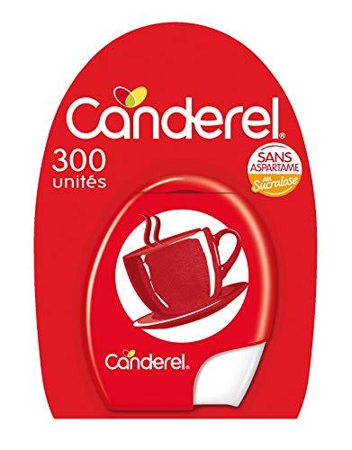 CANDEREL - Sucralose – Edulcorant - le Gout du Sucre Sans Calorie - Sans Aspartame - 300 Comprimés – Format Pratique