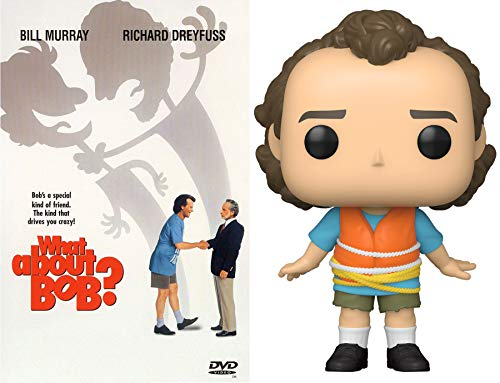 Bob Tied to Boat Bill Murray Comedy What About Bob? Movie & Figure Pop Exclusive Collectible Funny Crazy Pack