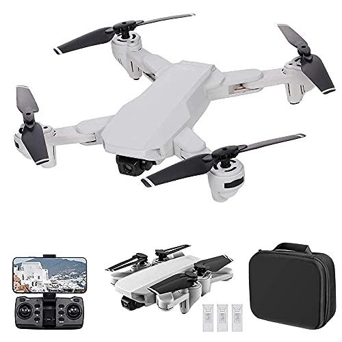 JJDSN S103 GPS Drone con cámara 4K, 5G WiFi FPV Plegable RC Drone, cuadricóptero RC de posicionamiento de Flujo óptico con Modo sin Cabeza, Vuelo de Punto de Referencia, sígueme, Modo Envolvente y