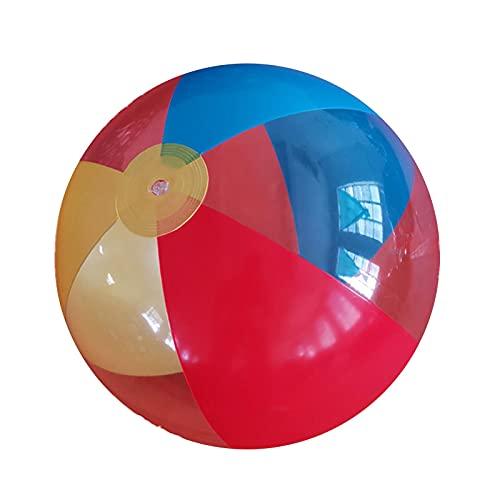 Eteng Balle Lumineuse Gonflable imperméable à l'eau de 16 Couleurs pour Les fêtes de Piscine, Les fêtes d'anniversaire, Les Nuits de Plage