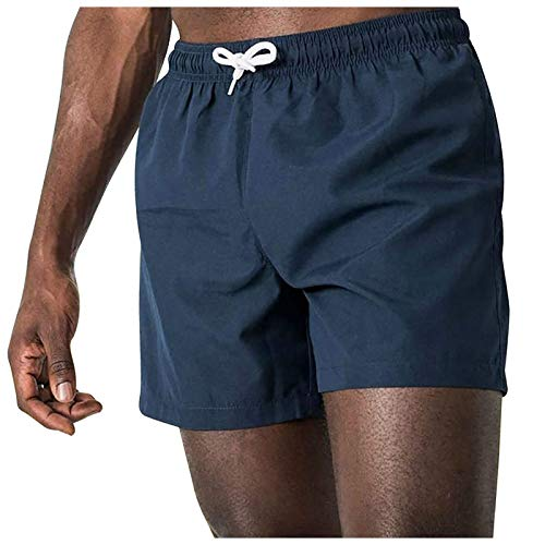 Rouped 1/2PCS Pantalon Corto Hombre Deporte,Pantalones Cortos Hombre Transpirable Shorts Deportivos Secado Rápido Pantalón Correr con Bolsillo,Pantalon para Playa,R0329-DP01