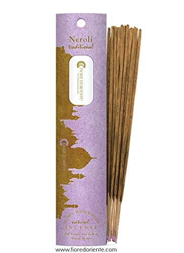 Neroli Traditional Incense 10sticks 20gr - 100% Natural - FIORE D'ORIENTE
