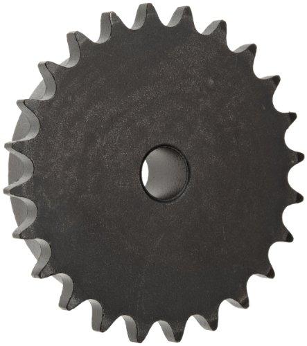 "Martin Roller Chain Sprocket, Reboreable, Type B Hub, Single Strand, 40 Chain Size, 0.5"" Pitch, 34 Teeth, 0.625"" Bore Dia., 5.696"" OD, 1.5625"" Hub Dia., 0.284"" Width"