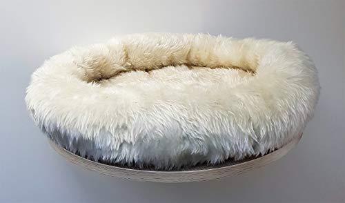 Lemio Wandliegebett Pet Kuschelnest Katzennest Wandkatzenbaum 50 cm Durchmesser