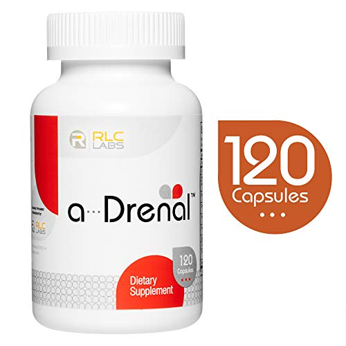 RLC, a-Drenal, Adrenal Support for Stress Relief and Energy, 120 Capsules