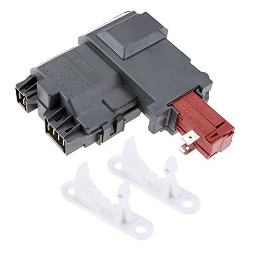 1317632 131763202 Washer Door Lock Switch with 131763310 Door Striker, Replacement for Frigidaire Whirlpool Electrolux Kenmore Gibson, Replace # 131763255 131763256 1317633 131269400 131763200
