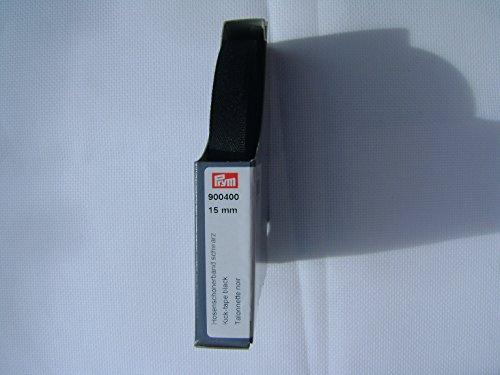 Prym 900400 Hosenschonerband schwarz, 100% PES, 17 mm
