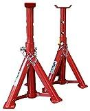 KIPPEN 1167A - Par de caballetes para coche de 2 tonos,...