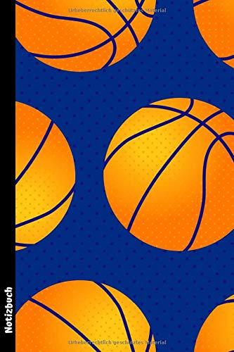Notizbuch: Basketball Tagebuch/Notizheft ca A5 liniert mit 100 Seiten zum Eintragen und Ausfüllen der Notizen, Zeichnungen, Ideen oder Erinnerungen | ... ,Trainer und Basketball-Fans
