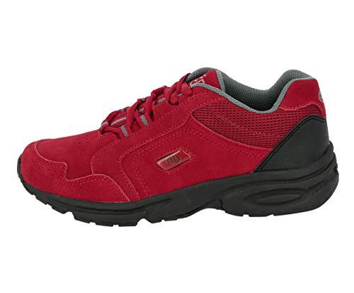 Brütting Damen Sport- und Outdoorschuhe Circle,Outdoor Schuhe,lose Einlage, Trekkingschuhe Wanderschuhe Laufschuhe Sportschuhe weiblich,rot,42 EU