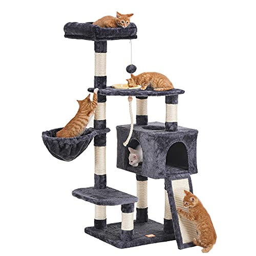 Heybly Cat Tree Cat Tower for Indoor Cats Multi-Level Cat...