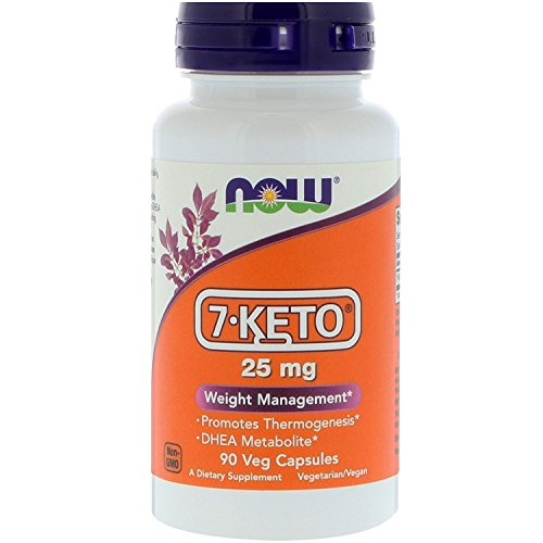 Now Foods 7-KETO, 90 Caps, 25 mg