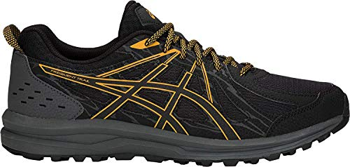 ASICS Men's Frequent Trail Running Shoes, Black/Black, 11
